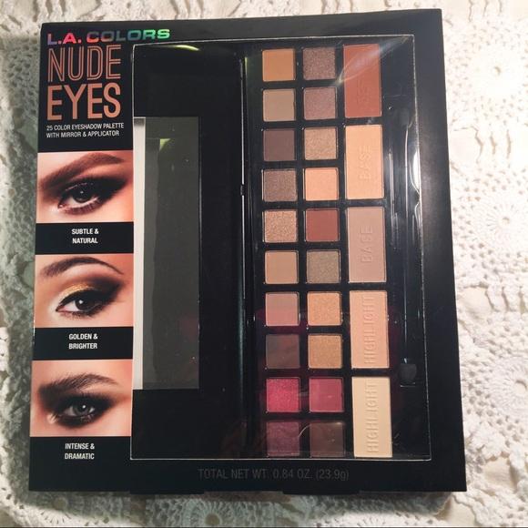 La Colors Makeup Nude Eyes 25 Color Eyeshadow Palette Poshmark